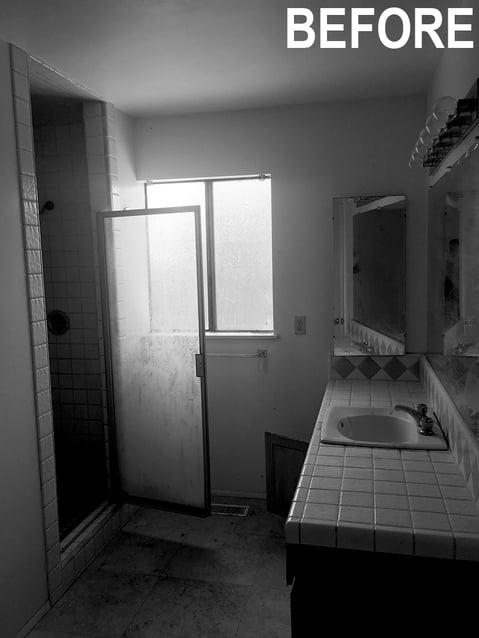 Bathroom with Text