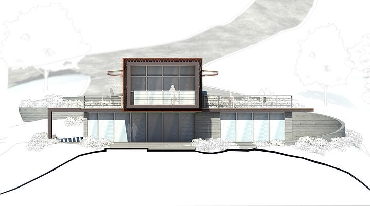 Axis House-3-Rendering of front elevation
