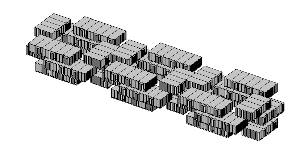 WWII Adaptive Re-Use - 4 - Container Stack 2
