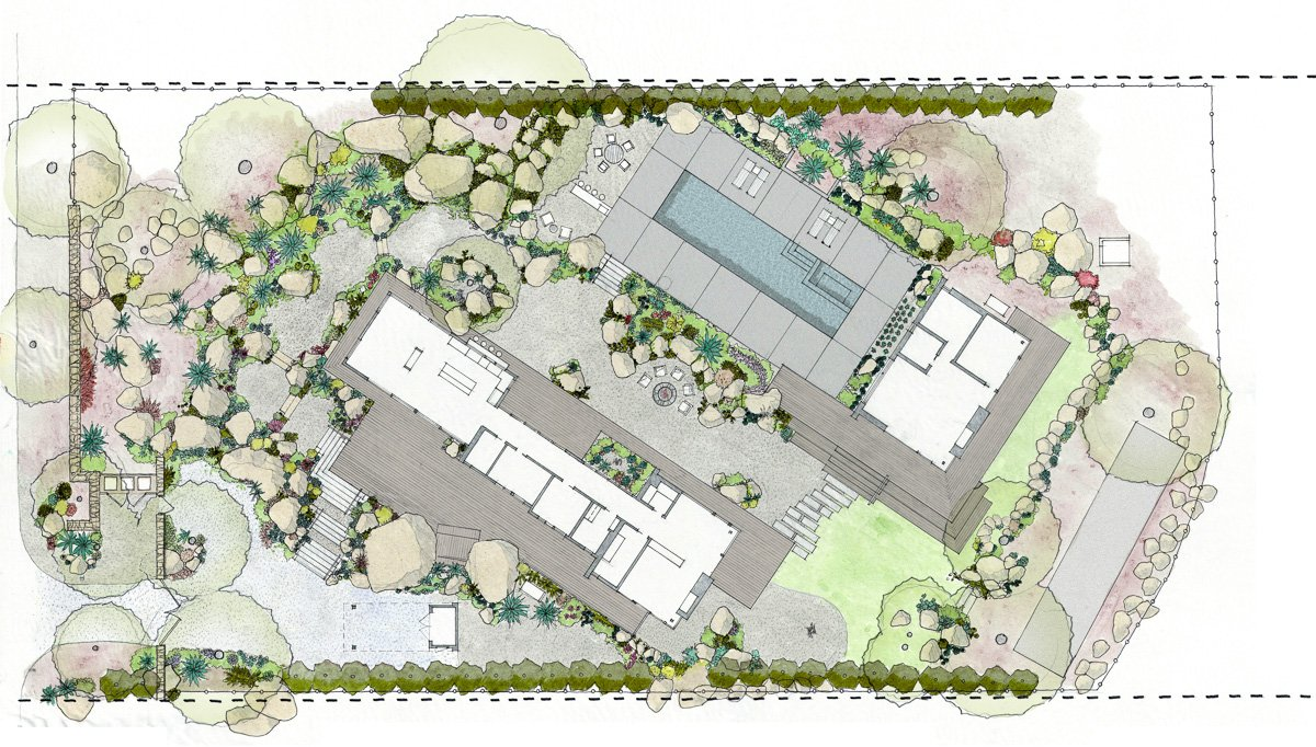 Honey House-2-Site Plan
