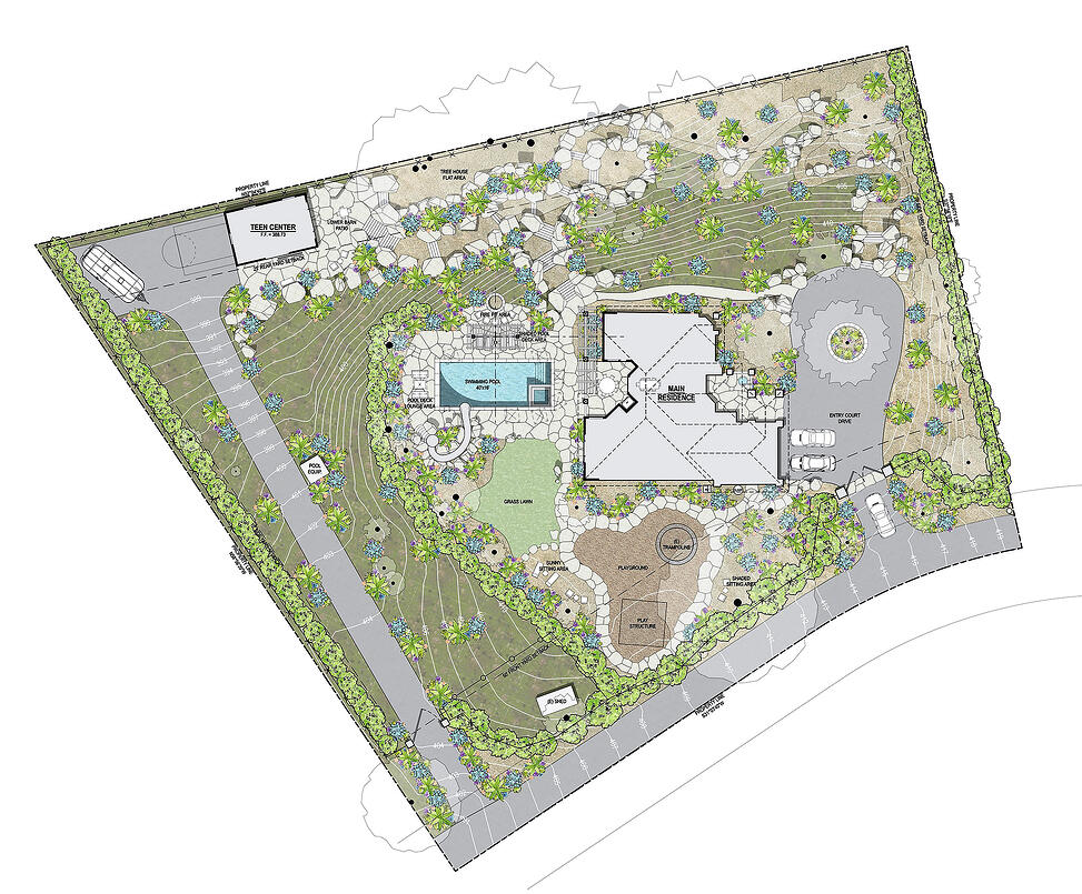 Meadowlark Site Plan