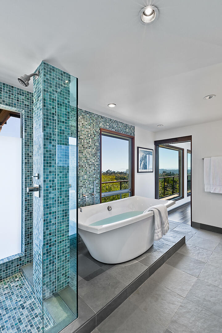 Mid-Century-Modern-Resdence-Santa Barbara bathroom soaking tub and shower@2x-22