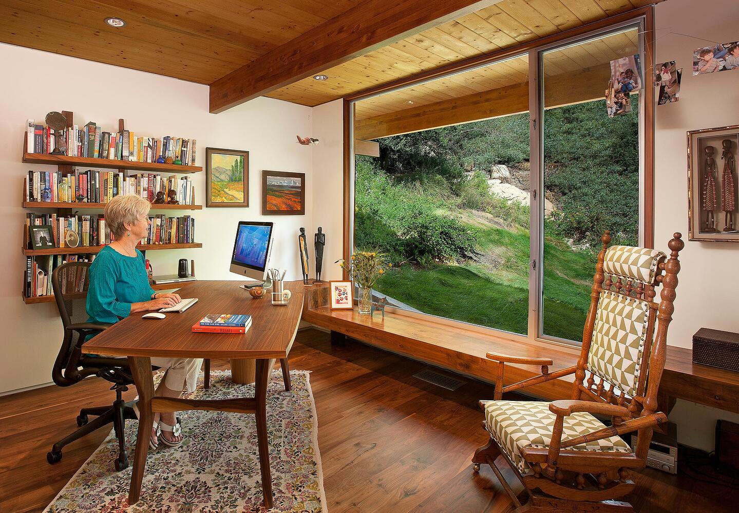 Mid-Century-Modern-Resdence-Santa Barbara_Home office with Large Window@2x-2