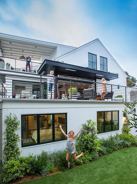 Bridge House-5-Main Residence from Yard