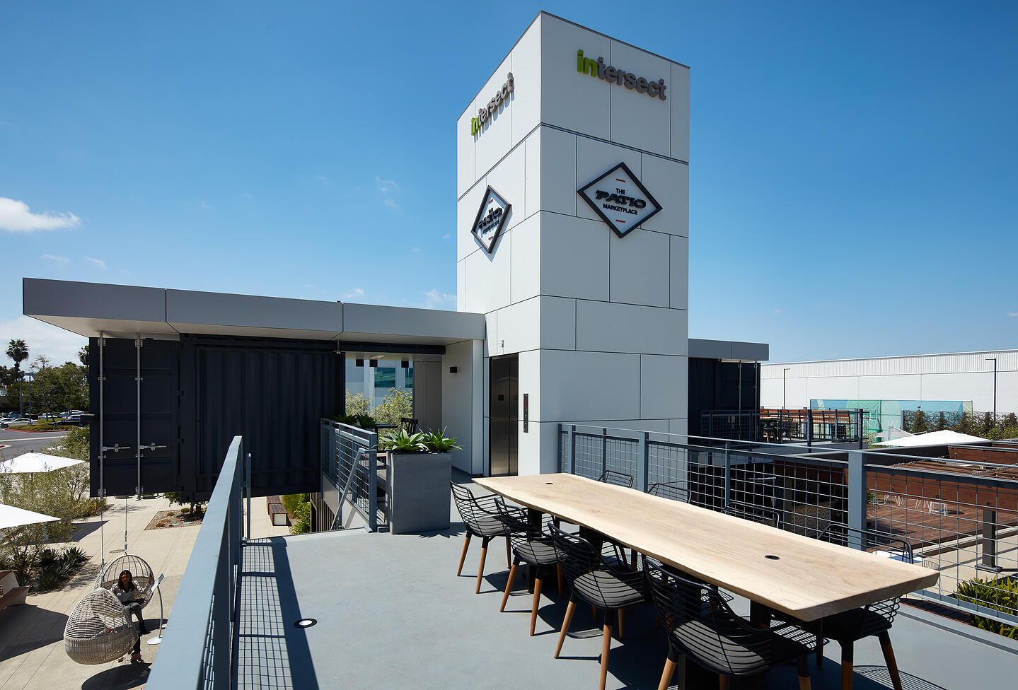 Container Pavilion at Intersect-4-upper level patio