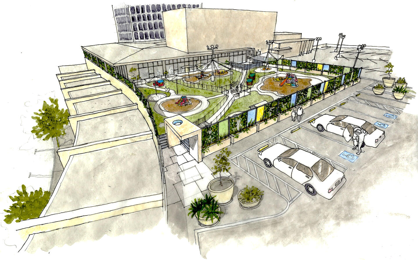 UCLA Child Care Center-@2x-12-Overall site rendering CROP